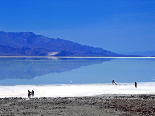 Death Valley as an inland sea