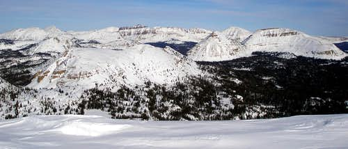 Winter view from Mount Watson