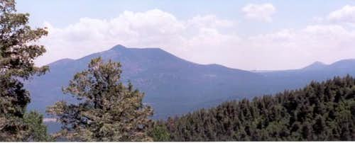 Kendrick Peak from Sitgreaves...