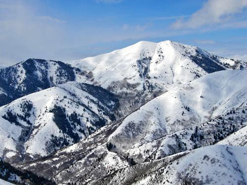 Sharp Mountain