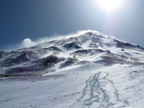 The North Face of Damavand mt.