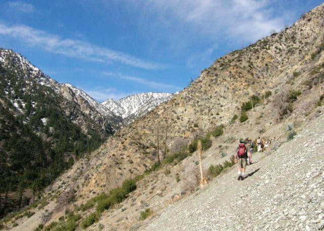 Up the Middle Fork