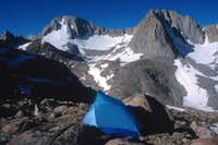 Mt. Darwin (L) and Mt. Mendel...
