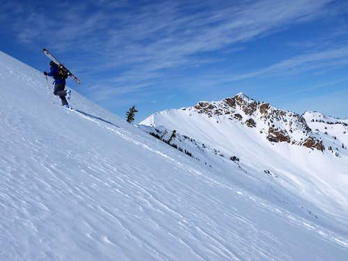 Climbing Ben Lomond