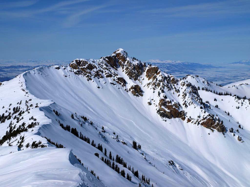 Willard Peak from Ben Lomond