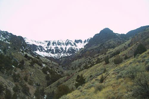Pike Creek Canyon/Steens Headwall.
