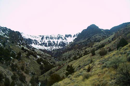 Pike Creek Canyon/Steens Headwall.