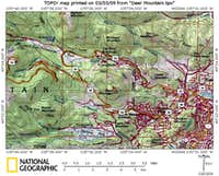 Deer Mountain Area Map_Local