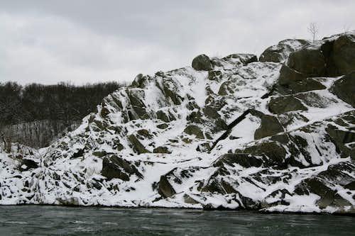 Rocky Island-- West Face