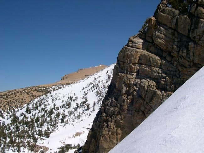 Freel Peak can be seen in the...