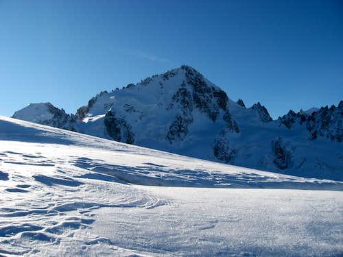 North Face of Aiguille du Chardonnet