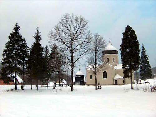 Church in Pętna, Beskid Niski