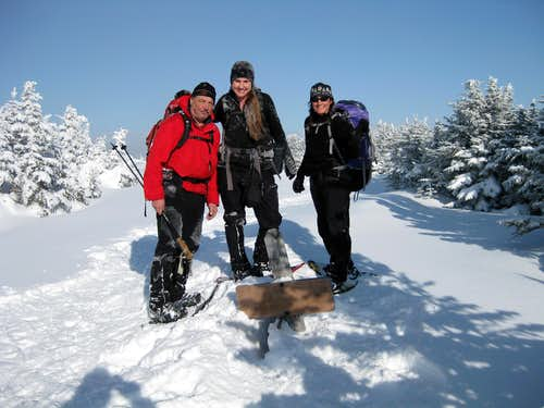 Summit of Carter Dome - 1/21/2009