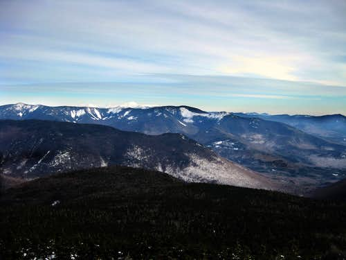 View from the summit of Liberty - 12/26/2008