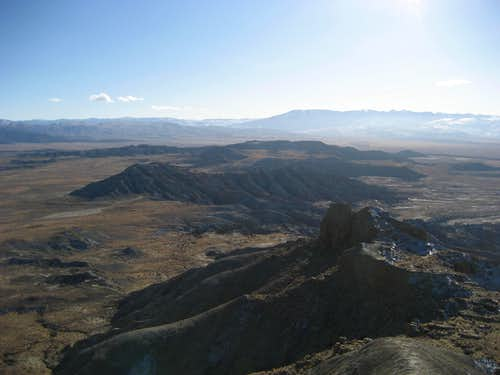 Summit view southwest