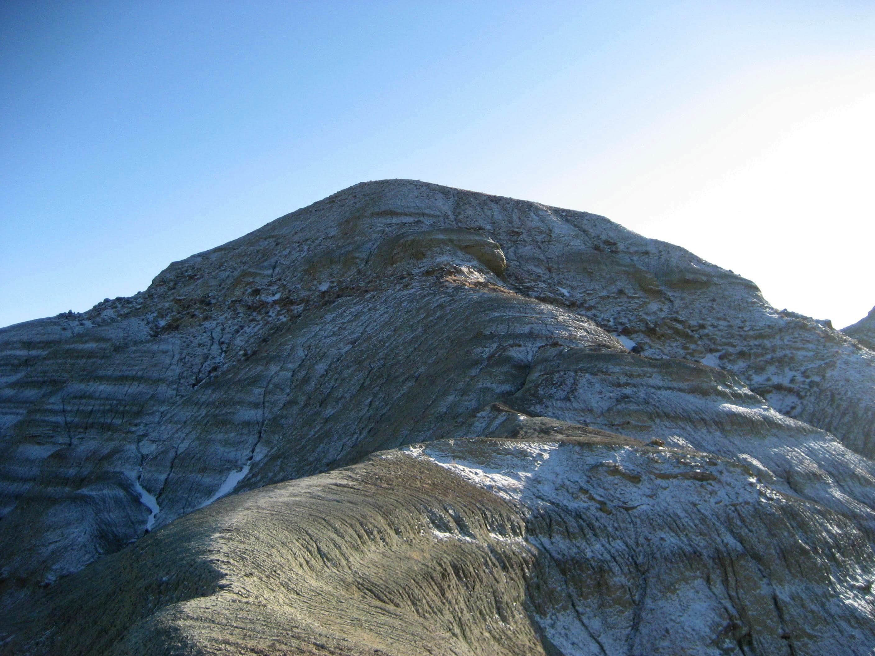 Peak 4990 - Badland Hills North