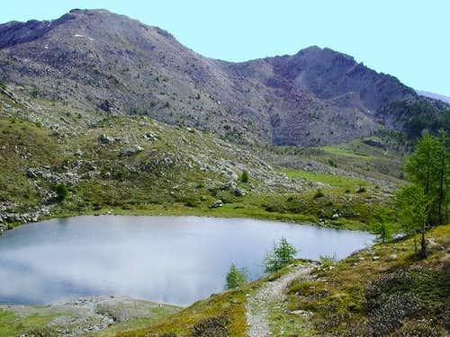 il lago Venouille mt. 2125