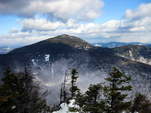 Passaconaway, as seen from the Whiteface ledges - 2/9/2009