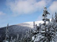 A partial view of Cabot from the Kilkenny Ridge trail - 1/17/2009