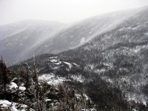 North Twin, as seen from an outlook on Galehead - 1/18/2009