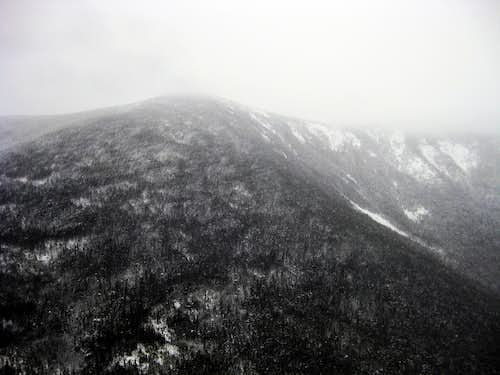 South Twin, as seen from an outlook on Galehead - 1/18/2009