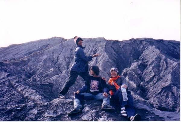 the trail to Mount Batuk