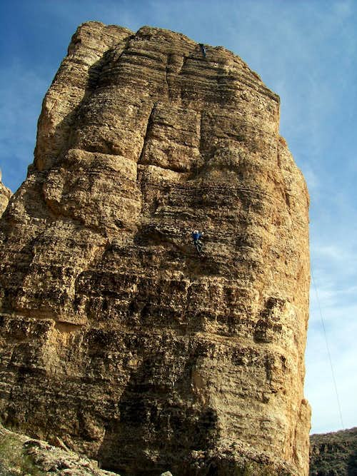 Smelling the Rose- 120'- 5.10b