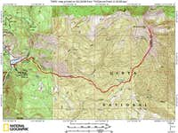 Mill Canyon Route