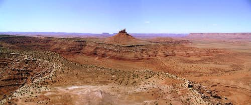 North Sixshooter Panorama