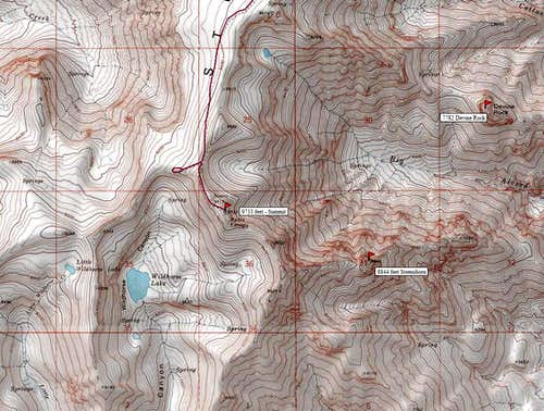 Summit area map