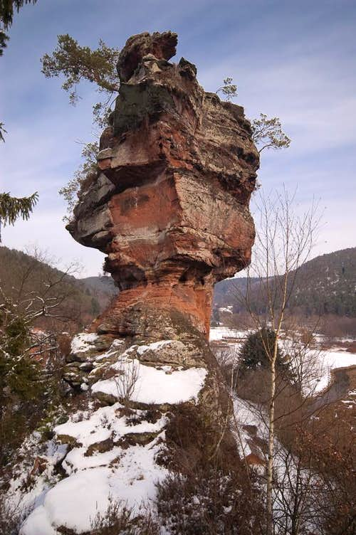 Heufelsen main summit