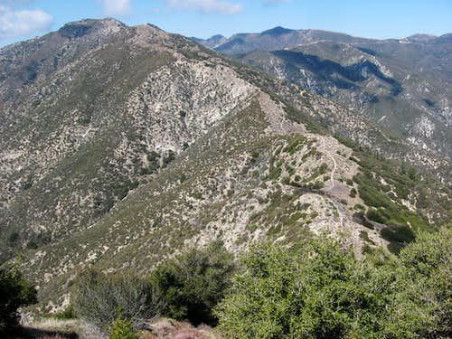 Condor Peak and False Summit