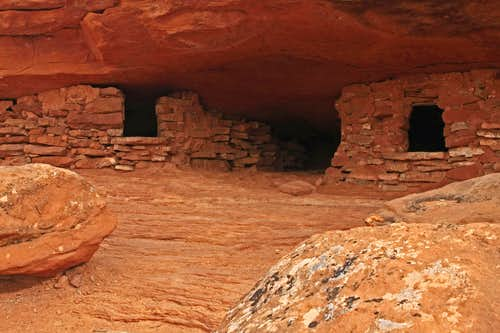 The Windows of Aztec Butte