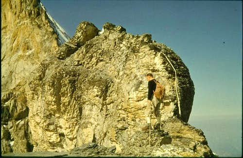 Eiger. Mittellegi ridge....