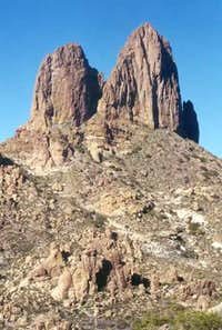 Weavers Needle from the low...
