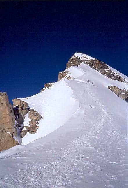 Allalin east ridge