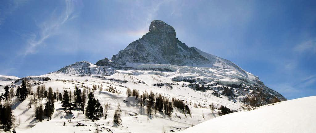 Below the Matterhorn