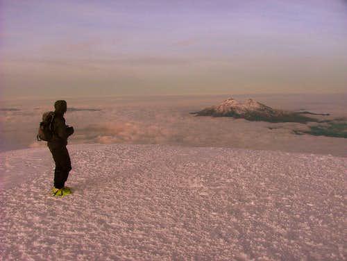 Cotopaxi summit.
