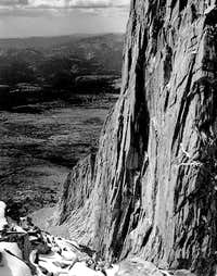 South face of the West Ridge...