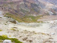 Scree field on Sawtooth