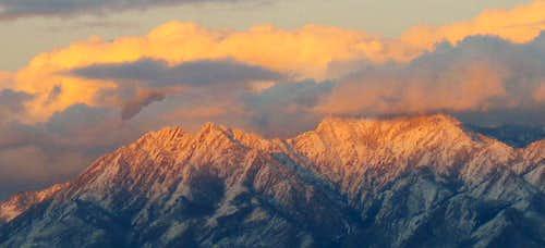 Mount Olympus and Triangle Peak