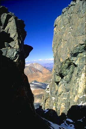 Chasm in the West Side Ridge...