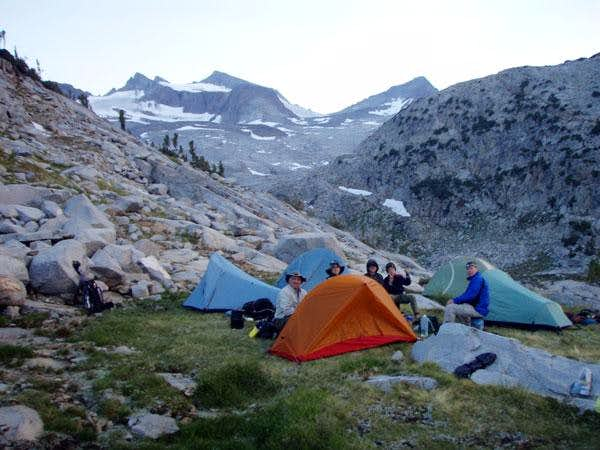 Donahue Pass Alpine Camp