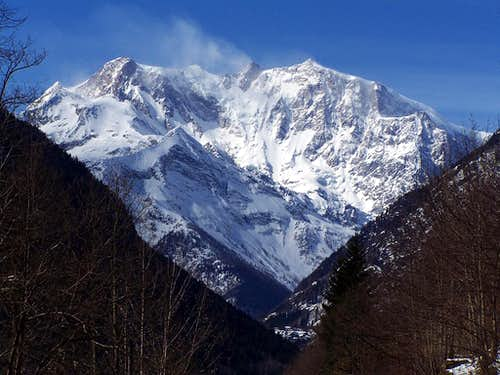 Monte Rosa East side
