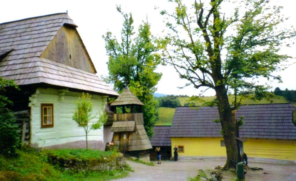 Vlkolínec Village Centre