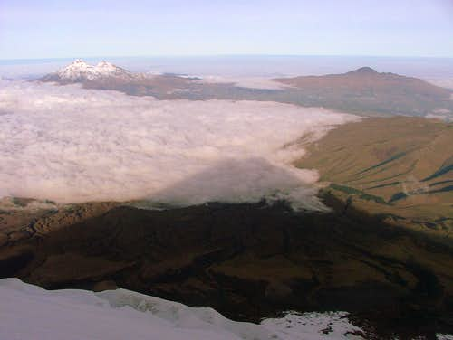 Cotopaxi's shadow.