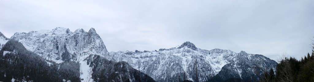 Mt Index/Persis Panorama