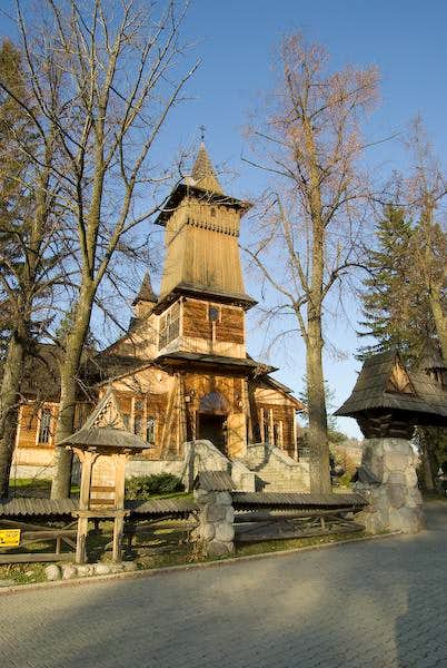 Wooden chapel in Kościelisko