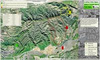 Crafton Hills Map