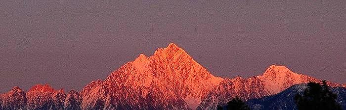 Mount Fisher Alpenglow
